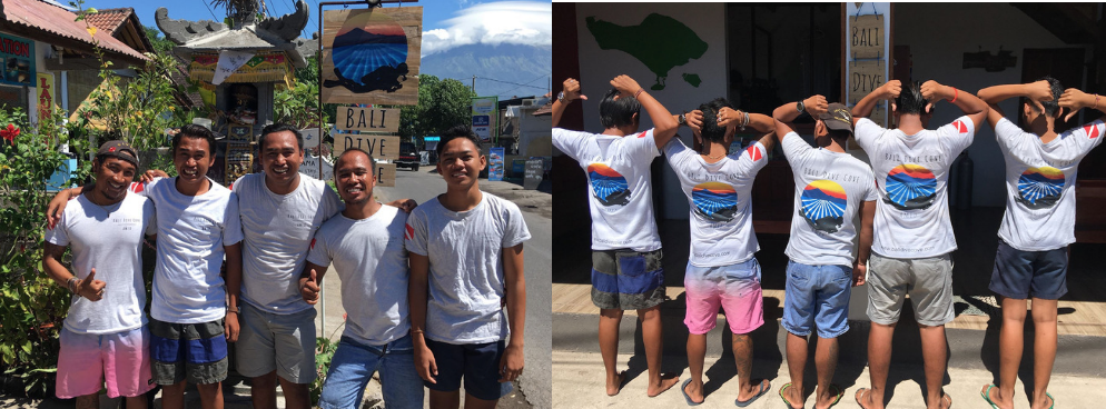 The bali dive cove team 2018